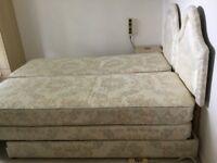 Twin Adjustamatic beds