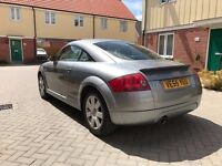 2006 AUDI TT 1.8T COUPE 100K MILES! FSH! CAMBELT DONE! NEW CLUTCH! NEW MOT! LADY OWNER!