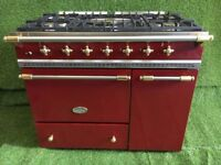 Stunning lacanche range cooker Vougeot Model Double oven Brass appliance