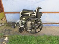 SIgmobility self propelled Wheelchair with full instructions and Walker with Shopping Bag