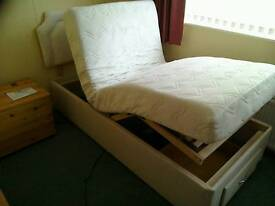 HSL single adjustable electric bed. Excellent condition