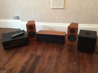 Multiple Home Cinema / Surround Sound System components. See below for specifics / models.