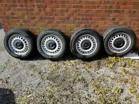 Tyres van 205/65/16 c