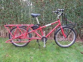 Yuba cargo bike.