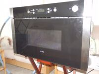 Wall-mounted/built-in stainless steel microwave oven
