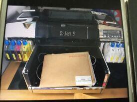 R-Jet 5 Direct to garment tshirt printer