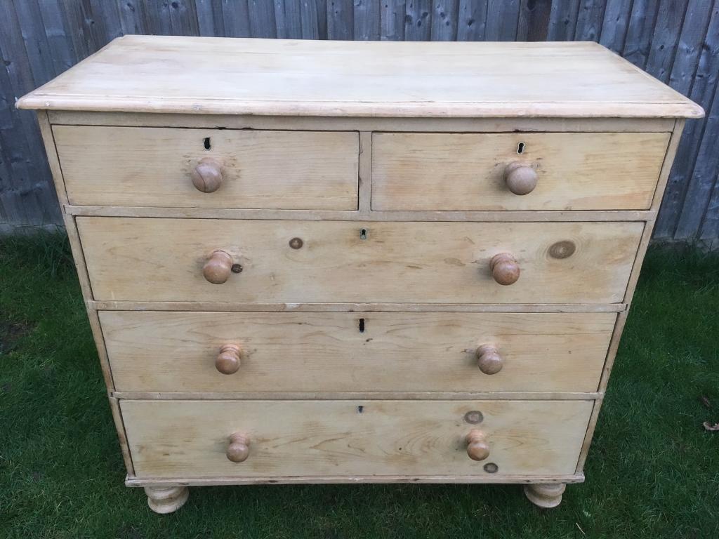 new style 7ed2c 062bb Victorian pine chest of drawers | in Hemel Hempstead, Hertfordshire |  Gumtree