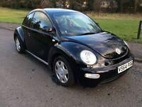 VW Beetle Black Automatic FSH 2000