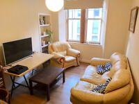 Bright one bedroom flat: EH8:University of Edinburgh Area