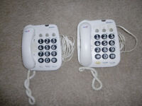 2* BT Big Button+ Corded Phones