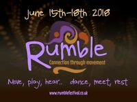 Volunteer at Rumble Conscious Dance Festival