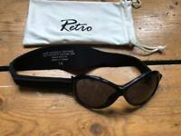 Baby banz sunglasses with headband age 0-2