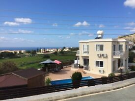 large 3 bed detached house with swimming pool, Paphos , with title deeds