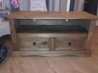 Corona Mexican Pine TV Unit