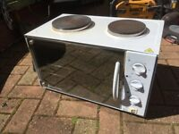 MINI-TABLETOP COOKER FAN OVEN HOBB AND GRILL ALL IN GOOD WORKING ORDER CAN DELIVER LOCAL LE3