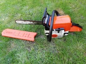Chainsaw stihl ms210