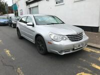 Chrysler Sebring 2008 , 2litre diesel , manual, 5 door, silver, loads of extras 104K , 1 year mot.