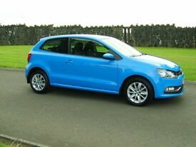 2015 VW POLO 1.0 SE 3 DR 1 LADY OWNER FINANCE AVALIABLE
