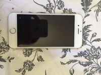 Gold I phone 6 - 16g - locked to 02