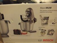 ( Reduced ) Bosch MUMXL10TGB MaxxiMUM Kitchen Machine / Mixer, 1600 W - 5.4 L, Titanium