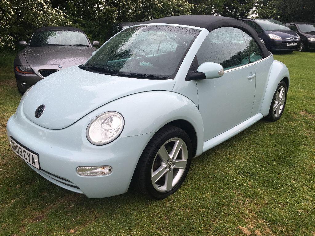 Volkswagen Beetle Convertible 1 6 Baby Blue History