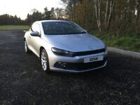 2012 VW SCIROCCO 2.0TDI BLUEMOTION silver diesel Volkswagen 6 speed (£30 road tax)