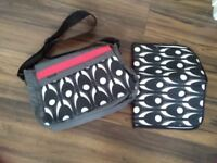 Obaby changing bag with mat