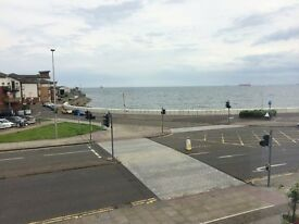 kirkcaldy immaculate central large sea views 2 bed flat