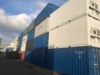 100s Available - 20 Foot by 8ft Shipping or Storage Containers - Second Hand