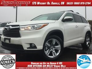 2016 Toyota Highlander Limited | DUAL SUNROOF | HEATED LEATHER |