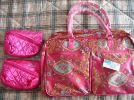 I have 1 large weekend bag and two impulse toiletry bags all brand new