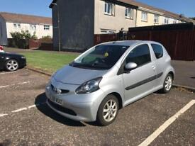 Toyota Aygo Platinum 2009/58 Genuine 52k July 19 MOT £20 Tax a Year must see not C1 107 Clio