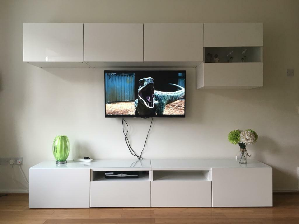 Ikea Besta Floor And Wall Unit Surround In Bicester Oxfordshire Gumtree