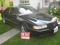 1993 Cadillac STS chrome Sedan