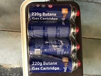 Hi gear camping gas butane 220g new