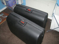 Pair of large Pierre Cardin suitcases