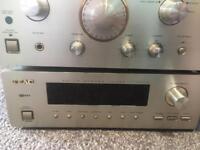 Stereo cassette amp