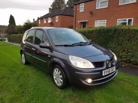 Renault Scenic 1.6 VVT Dynamique Hatchback 1 OWNER FROM NEW 12 MONTHS MOT