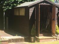 Garden shed 10 x 6