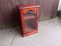 Small Glass Front Display Unit Delivery Available