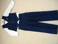 Monsoon Navy Blue Boys suit - age 5 years