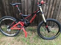 Demo 8 specialised downhill mountain bike