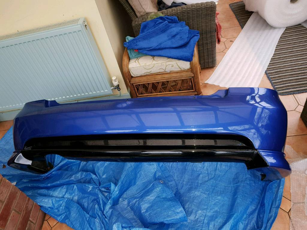 Astra convertable / coupe rear bumper with irmscher spats