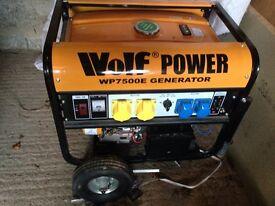 Generator wolf power 8.5 v