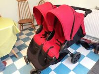 Double britax buggy
