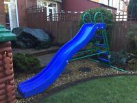 Children's 9ft wavey slide