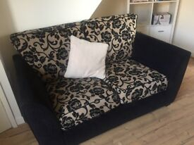 Stunning three seater and two seater sofa, good condition looks great nice design and for only £120