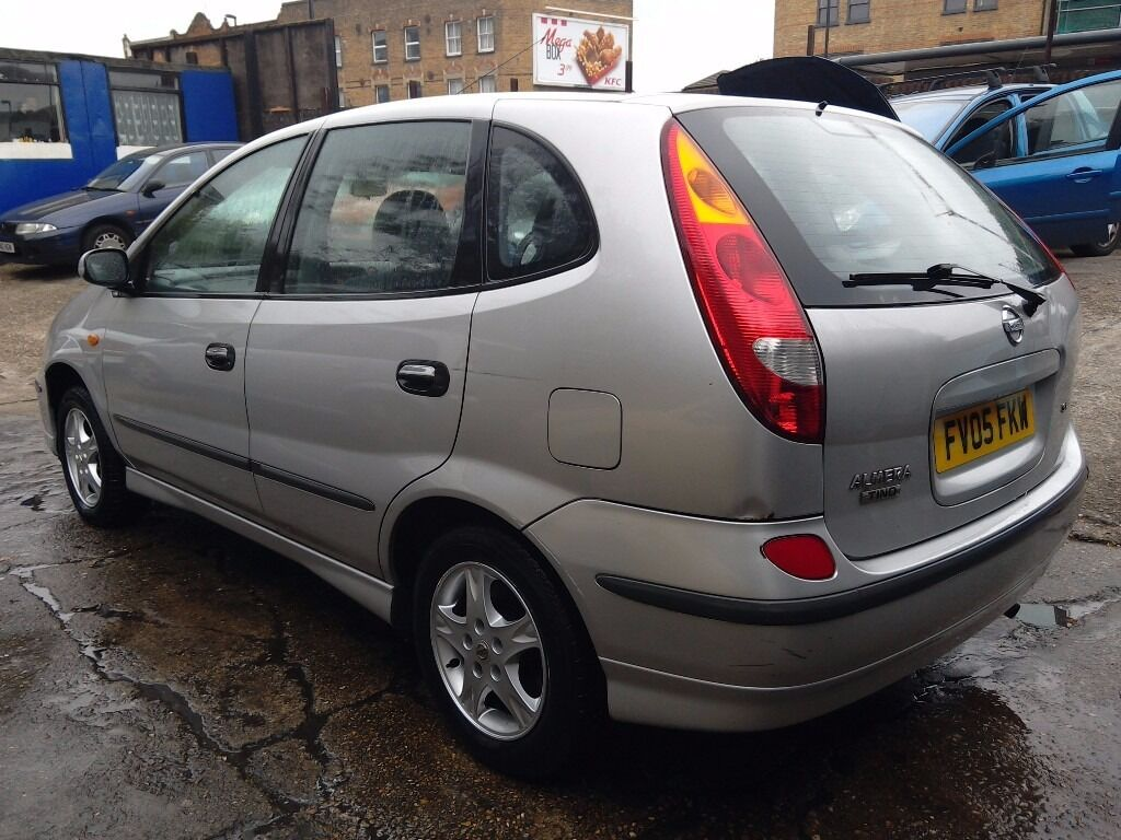 2005 nissan almera tino call 07340962828 in sydenham london 2005 nissan almera tino call 07340962828 image 1 of 6 vanachro Gallery