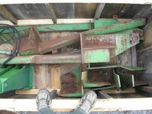 Parting out john deere tractor