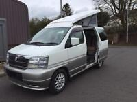 New Nissan Elgrand Camper Van Conversion
